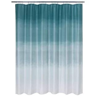 colorado springs metallic ombre glimmer single shower curtain