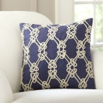Breakwater Bay Menard Sailor S Knot Embellished Pillow Cover Reviews Wayfair