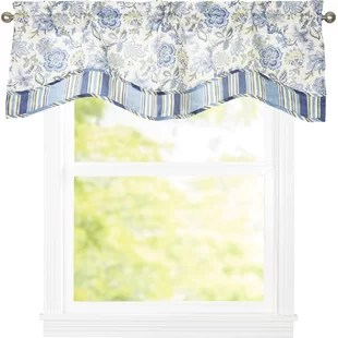 curtains with valance for living room light drapes and wayfair quickview