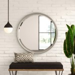 Large Oversized Round Wall Mirrors You Ll Love In 2020 Wayfair