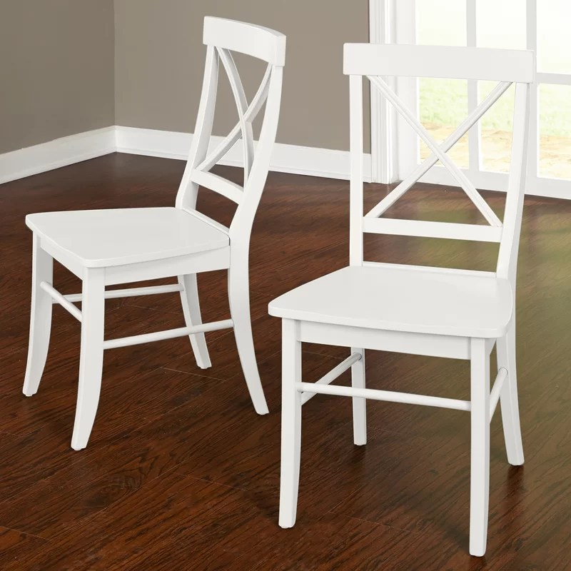 solid wood chairs kitchen chair slipcovers brookwood side reviews joss main