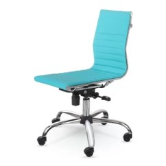 Desk Chair Turquoise Plastic Seat Covers For Kitchen Chairs Dark Teal Wayfair Quickview