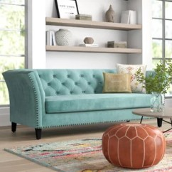 Aqua Sofa Sectional Chaise Couch Wayfair Quickview