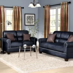 Leather Sofa Sets For Living Room Occasional Tables You Ll Love Wayfair Ca Save