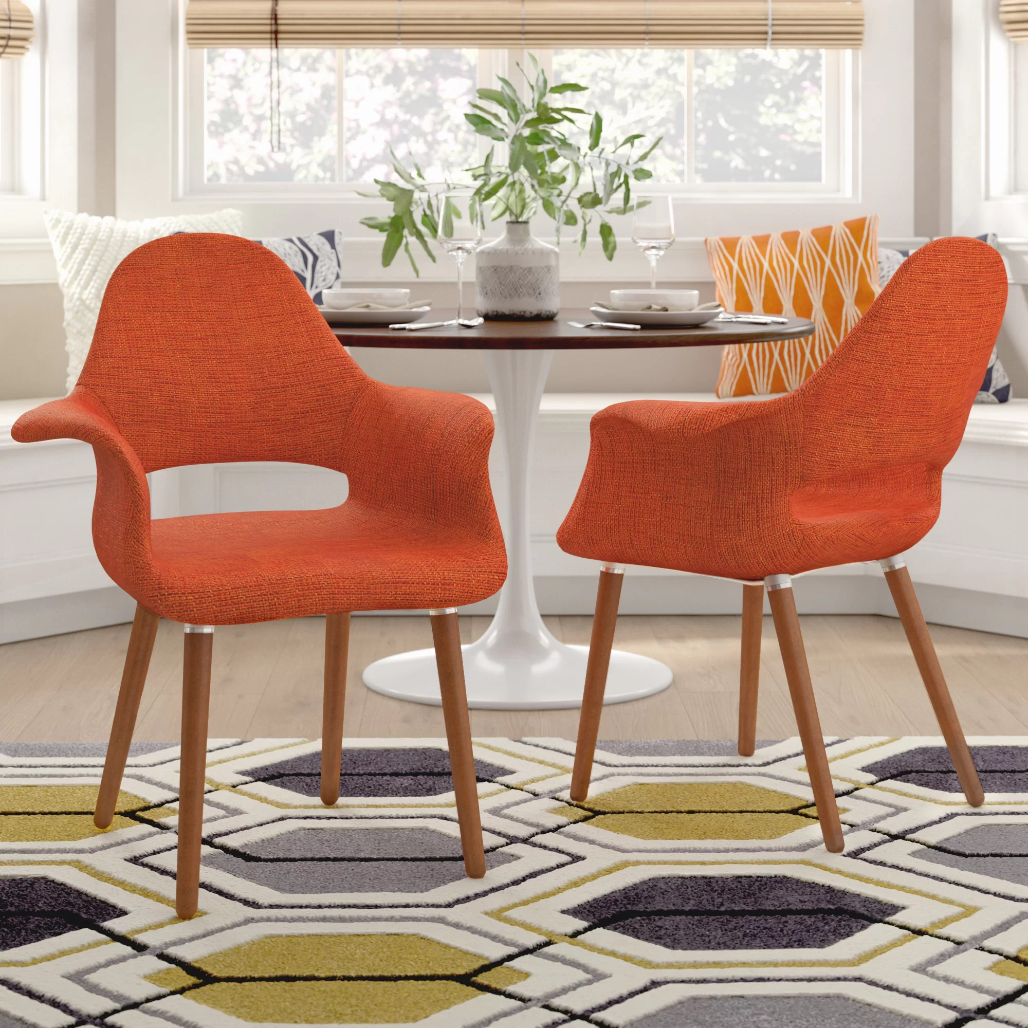 Red Upholstered Dining Chairs Kansas City Upholstered Dining Chair