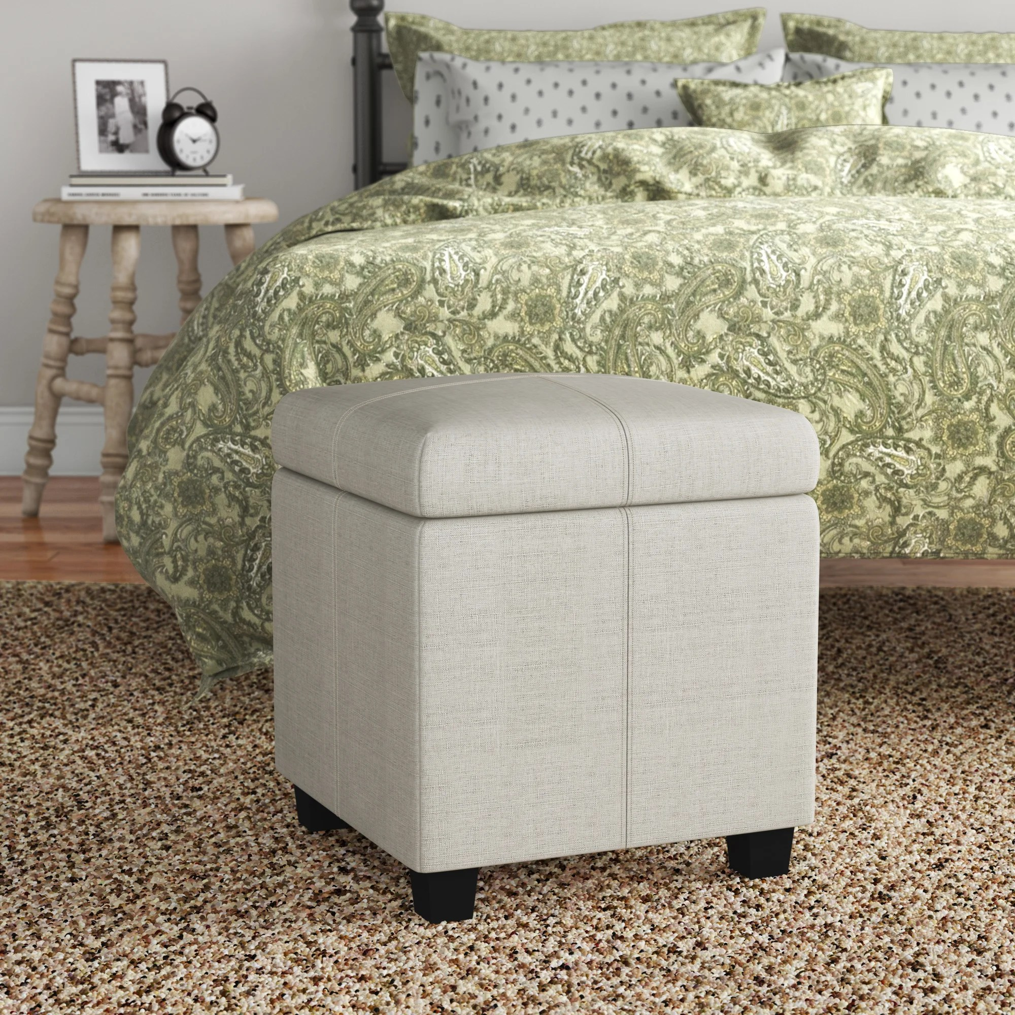 cube ottomans poufs you ll love in