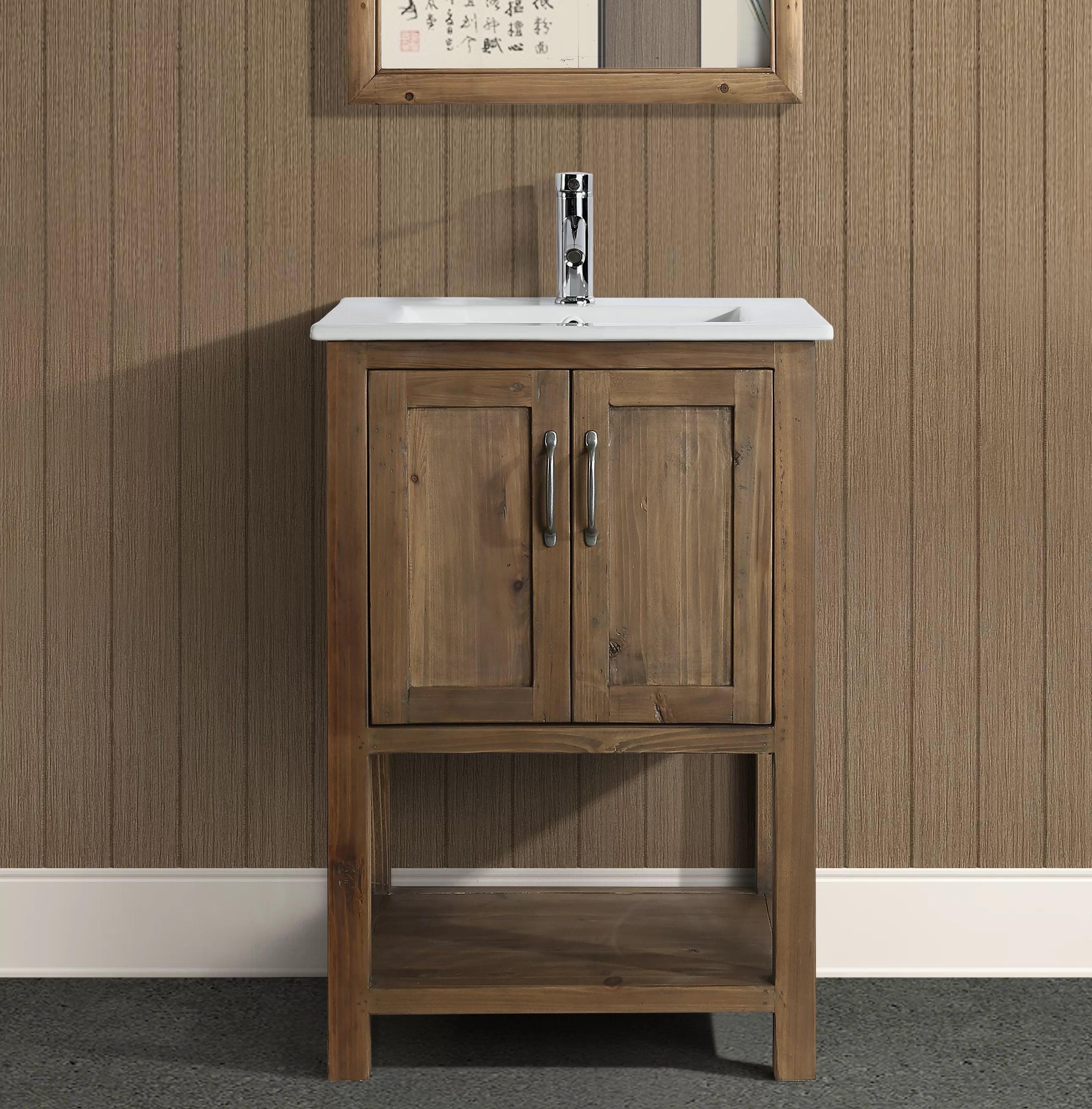 austin 24 single bathroom vanity set