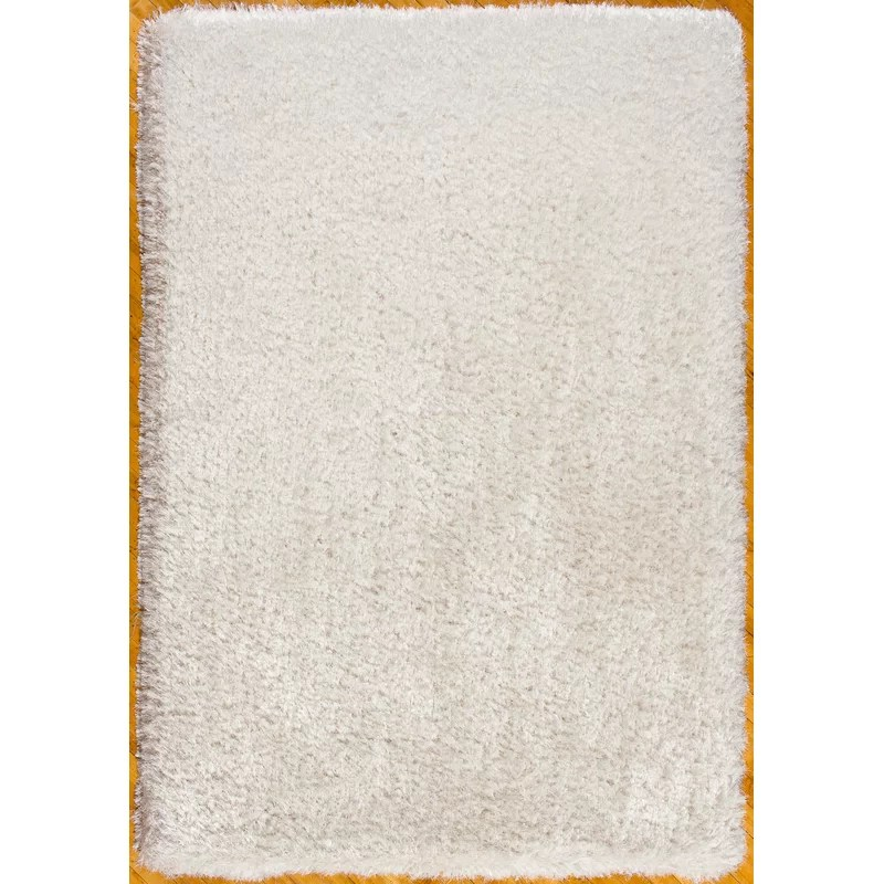 Hand-Tufted Area Rug Rug Size: Rectangle 76 x 96