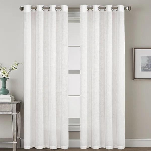 belgian flax linen curtain