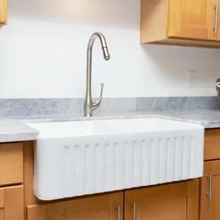 double farmhouse apron kitchen sinks