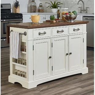 large kitchen islands with seating faucet pull out sprayer birch lane quickview