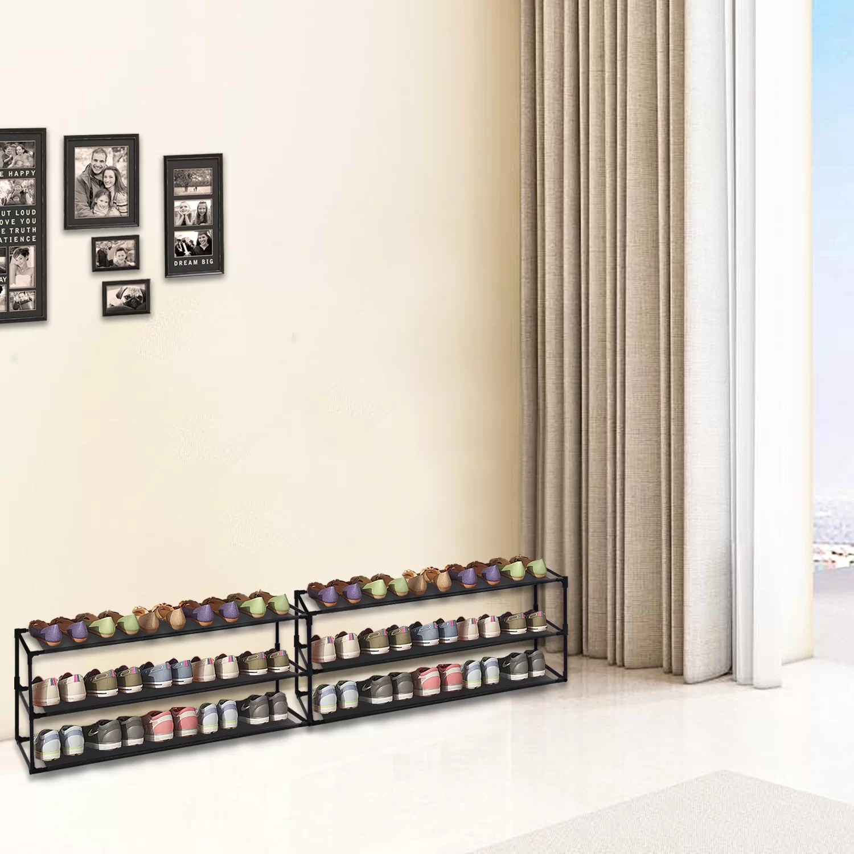3 tier 10 pair shoe rack