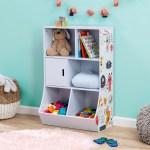 Harriet Bee Timberline 6 Cube Kids Storage Toy Organizer Reviews