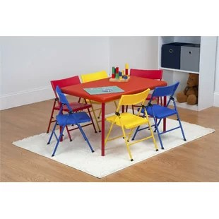table and chairs for kids swing chair olx you ll love wayfair adrian 7 piece rectangular set