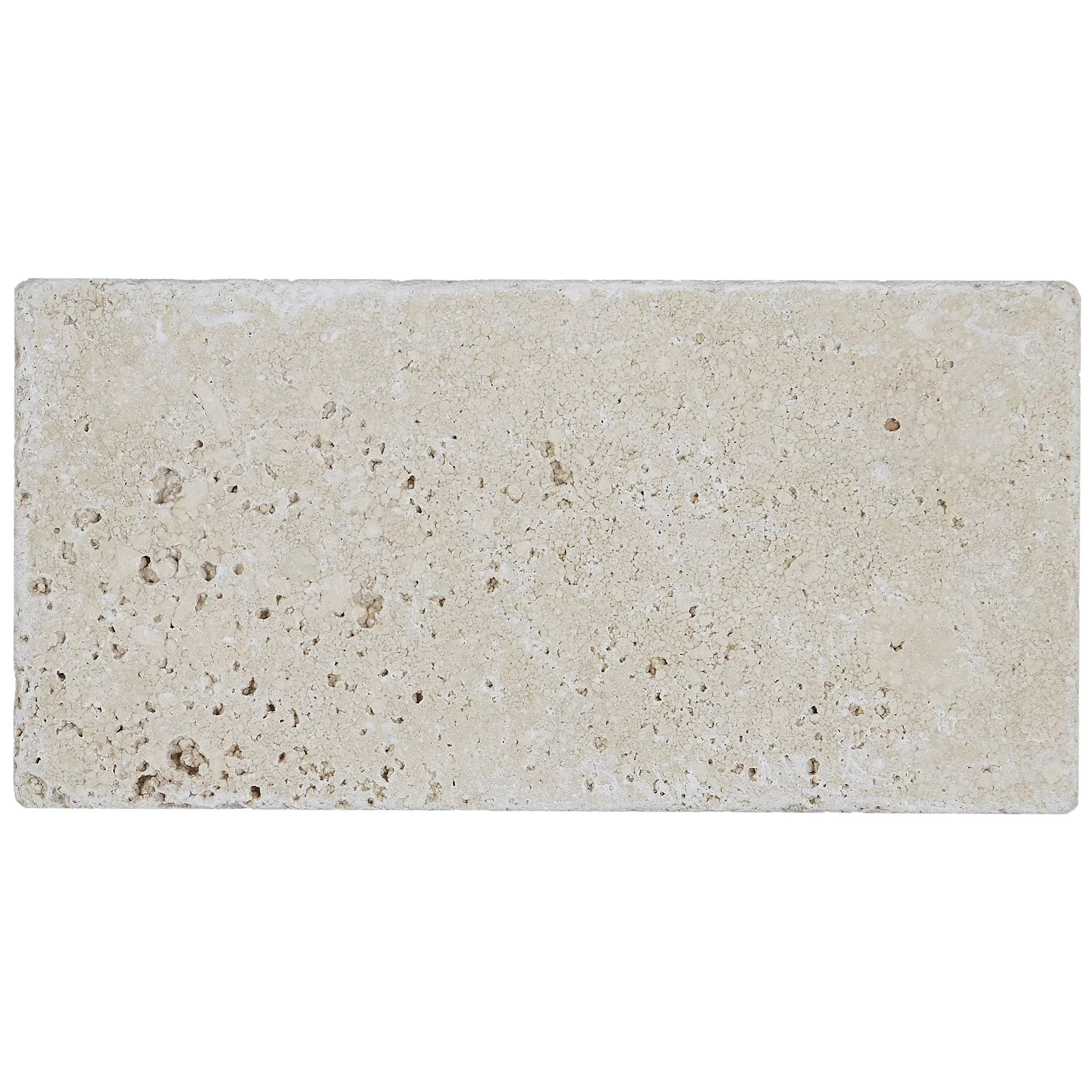 hopkins 3 x 6 natural stone subway tile in ivory classico