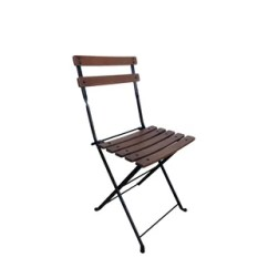 Bistro Chairs Outdoor Folding Chair On Wall Rattan French Wayfair Cafe Patio Dining Set Of 2