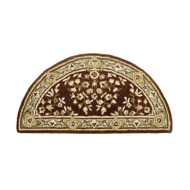 Oriental Hearth II Wool Hand Tufted Area Rug Rug Size: 26 H x 56 W x 0.5 D