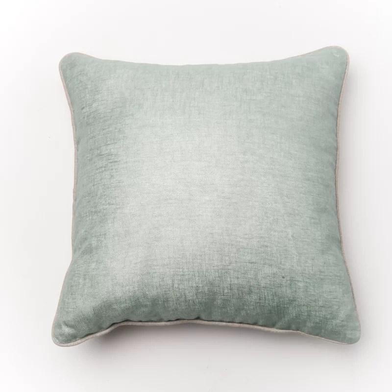 Throw Pillow Cover Color: Sky Blue