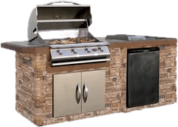 portable outdoor kitchen 24 inch sink kitchens you ll love wayfair built in grills