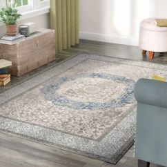 Light Gray Living Room Rug Ideas To Decorate My Wall 10 X 14 Area Rugs Birch Lane Sofia Blue