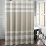 tan shower curtain wayfair