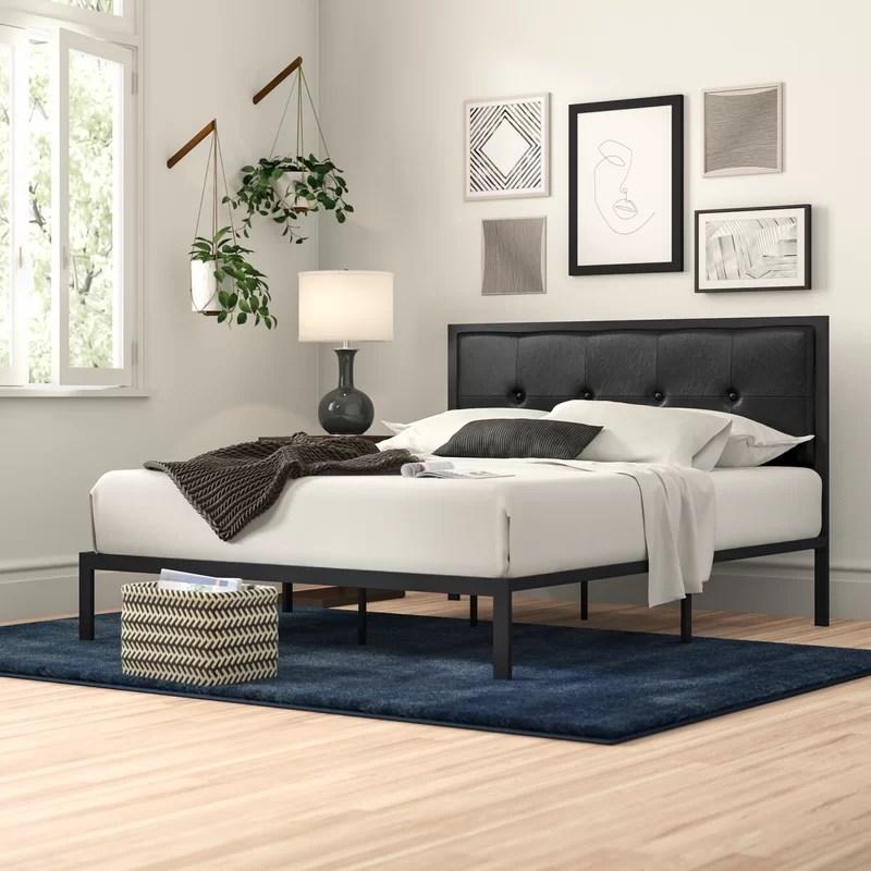brookneal tufted upholstered platform bed