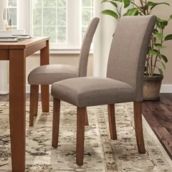 Parson Chairs Cheap Al S And Tables Parsons Kitchen Dining You Ll Love Wayfair Satchell Chair Set Of 2
