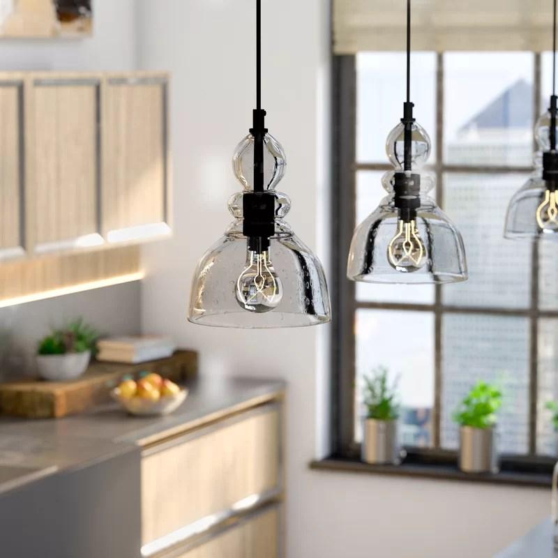 Trent Austin Design Wyckhoff 1 Light Bell Pendant & Reviews Wayfair