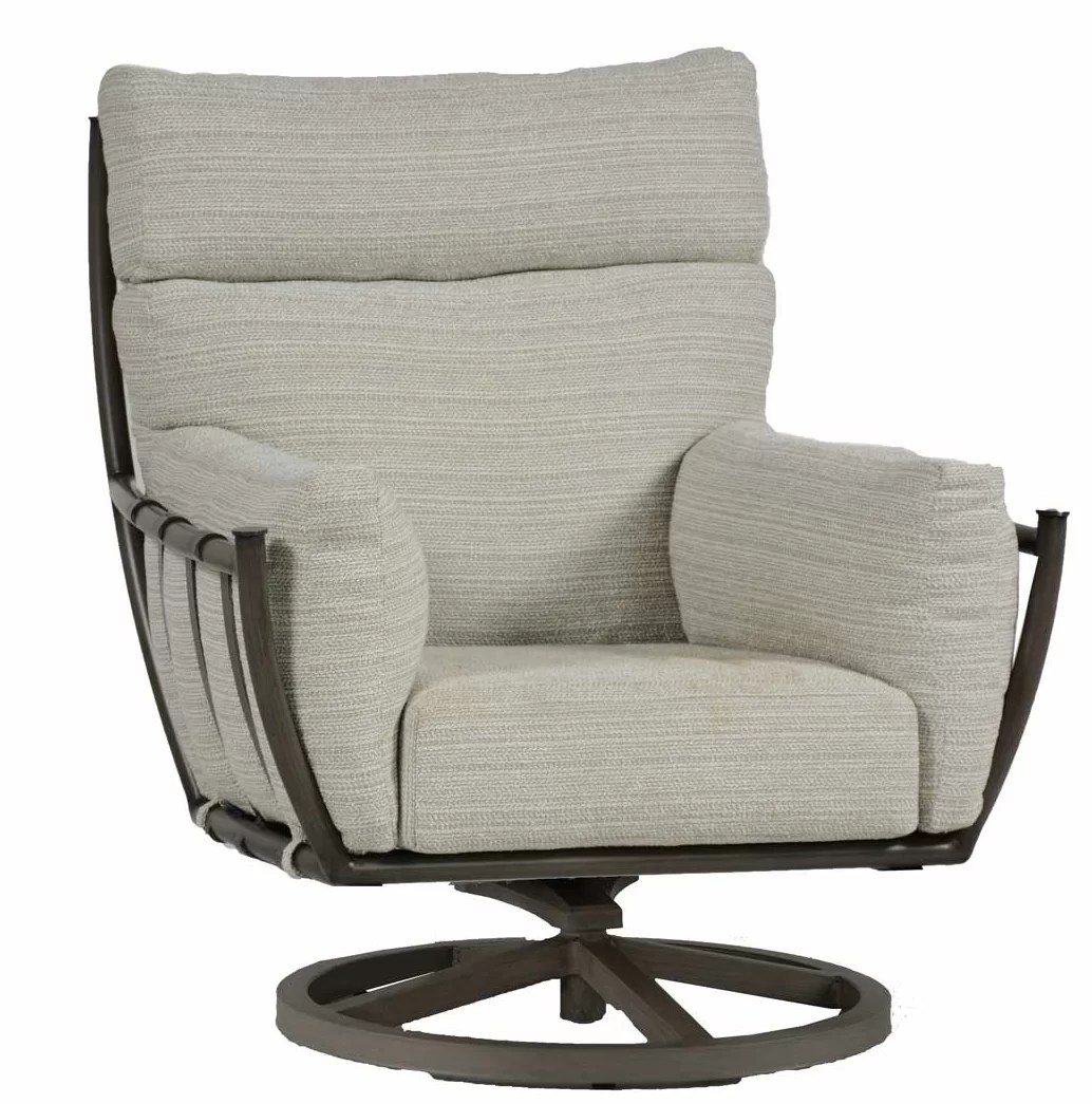 Swivel Rocking Chairs Majorca Swivel Rocking Chair With Cushion