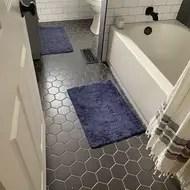 4 x 4 porcelain honeycomb mosaic wall floor tile