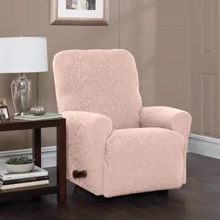 pink slipcover chair wedding covers hire surrey slipcovers you ll love wayfair quickview