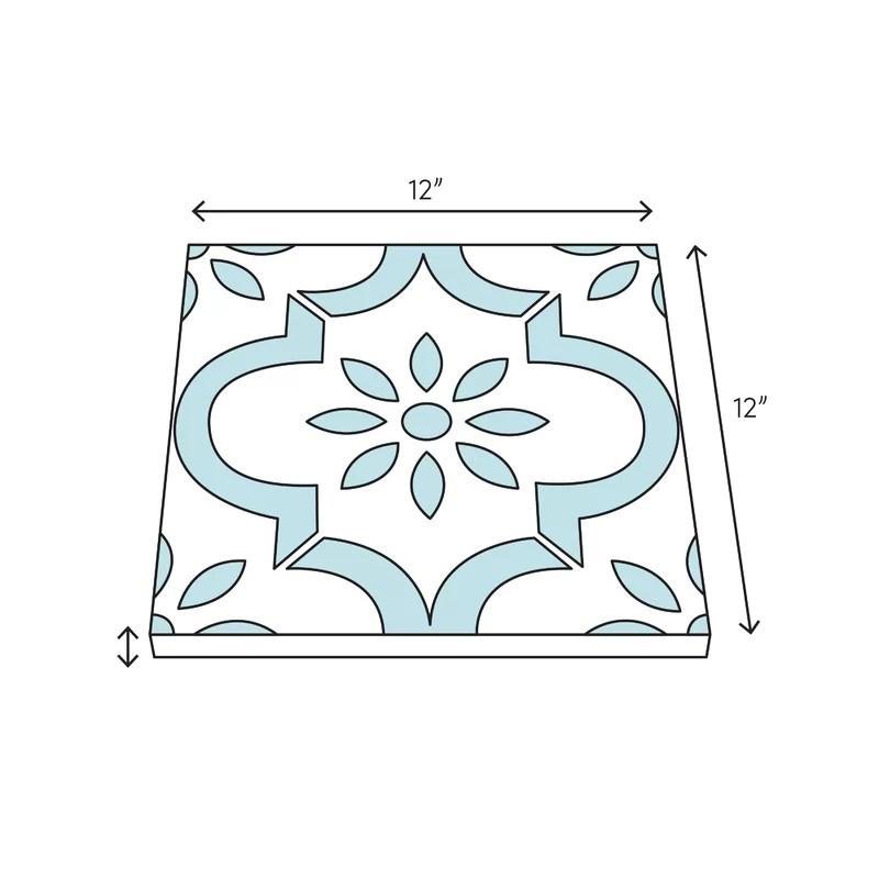 carrara 12 x 12 marble look wall floor tile