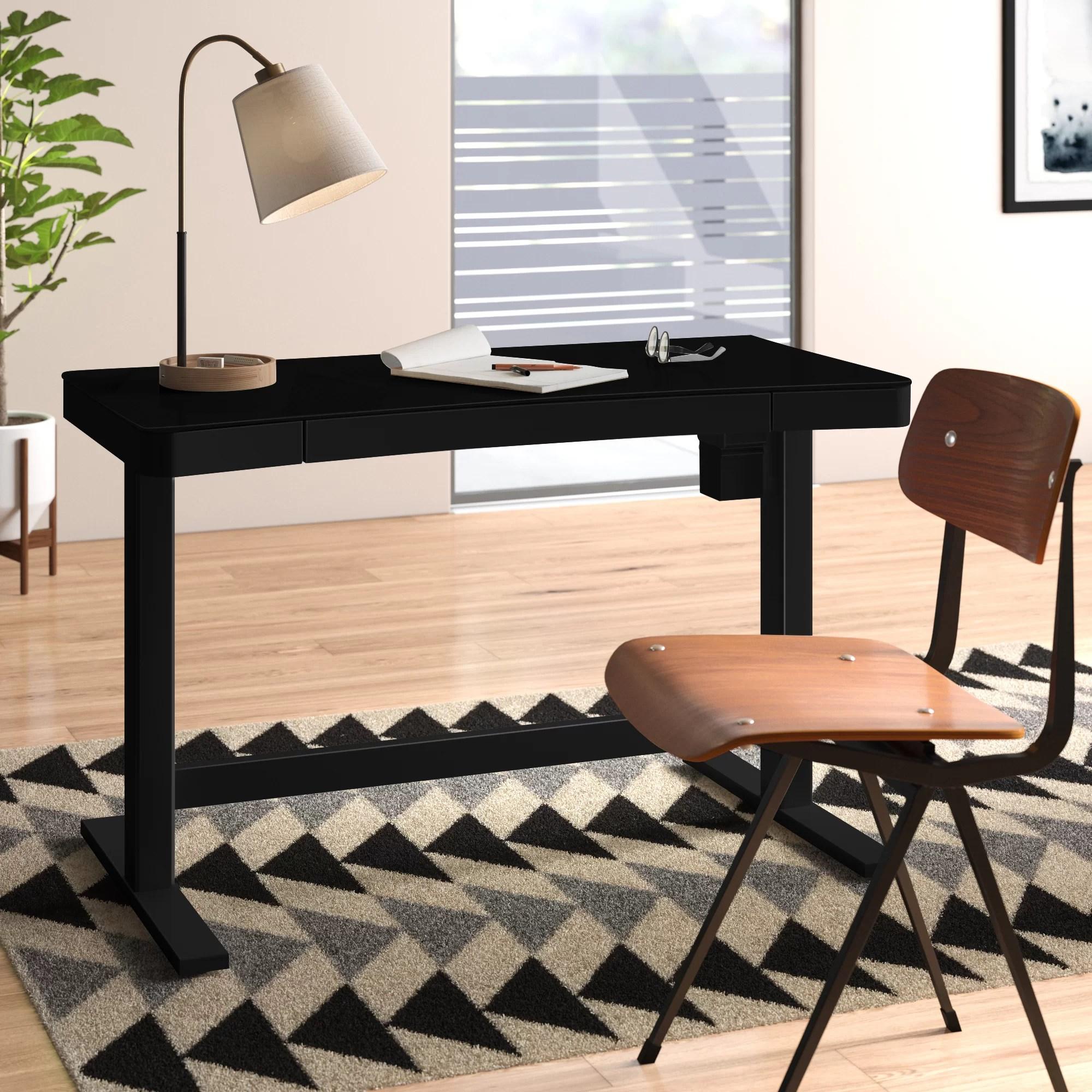 Clarke Height Adjustable Standing Desk Reviews Allmodern