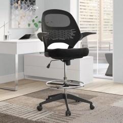 Modern Drafting Chair Swivel Velvet Zipcode Design Alyson Mesh Reviews Wayfair