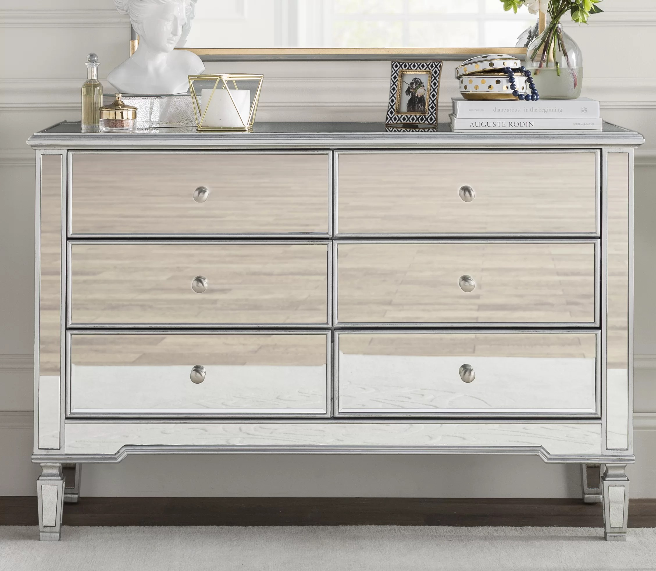 daly 6 drawer double dresser