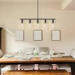 Light Kitchen Table Cabinet Distributors Hanging Lights Wayfair Chromeo 5 Island Pendant