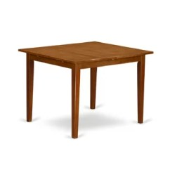 Rubberwood Butterfly Table With 4 Chairs Side For Recliner Chair Leaf Kitchen Dining Tables You Ll Love Wayfair Quickview