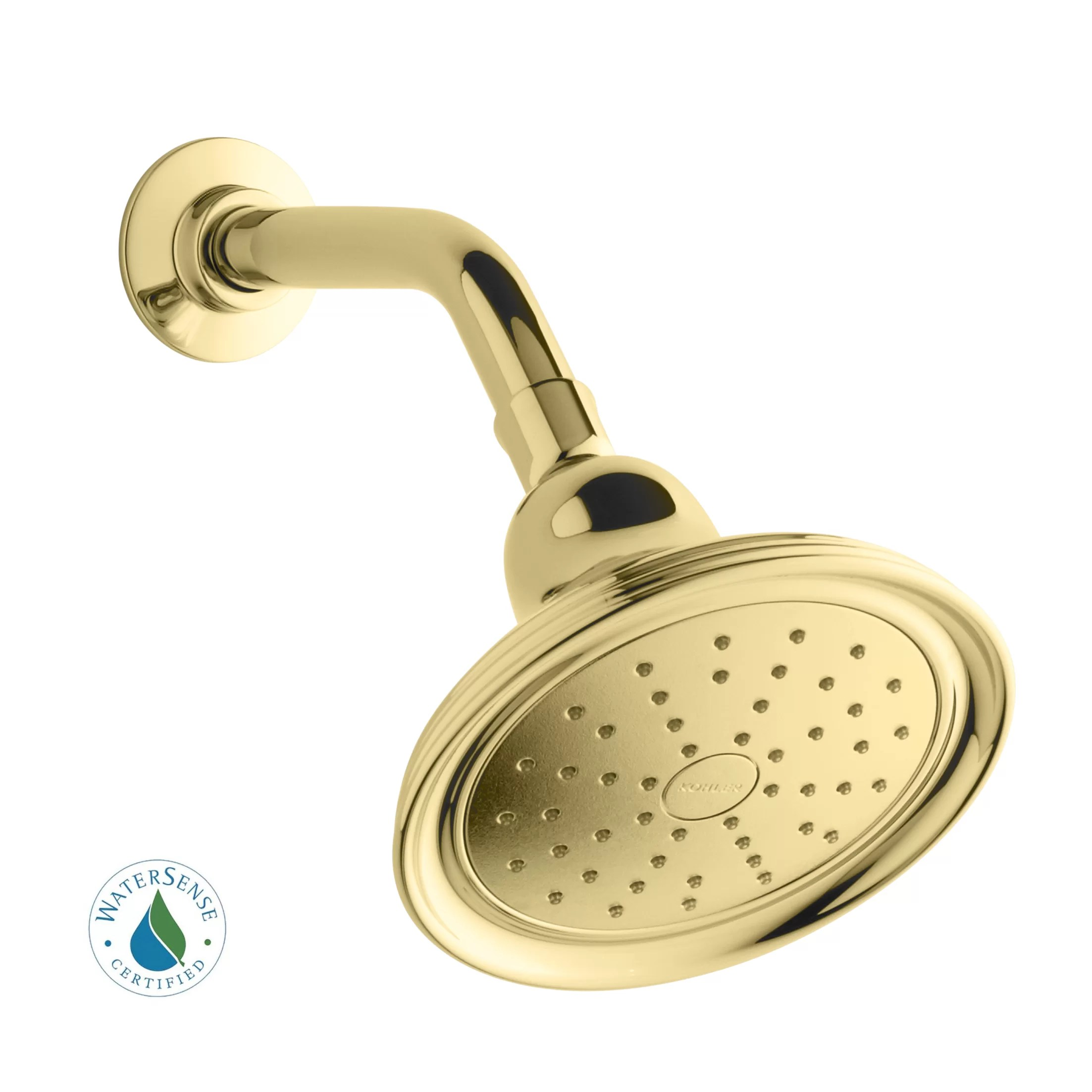 Devonshire Low Flow Shower Head With Katalyst Air Induction Spray