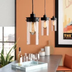 Kitchen Pendant Lights Costco Mat Island Lighting You Ll Love Wayfair Millet 3 Light