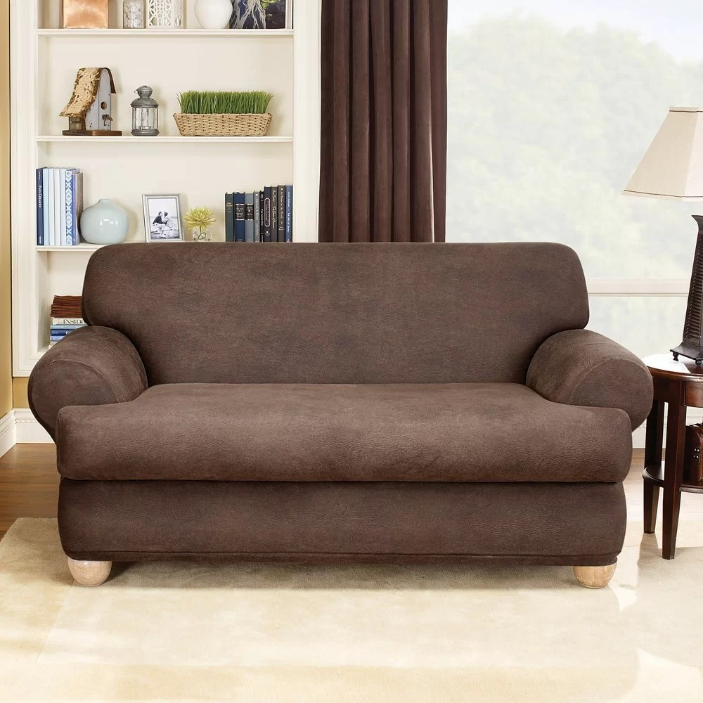 sure fit stretch pearson 3 pc sleeper sofa slipcover full la manufacturer leather t cushion set reviews wayfair
