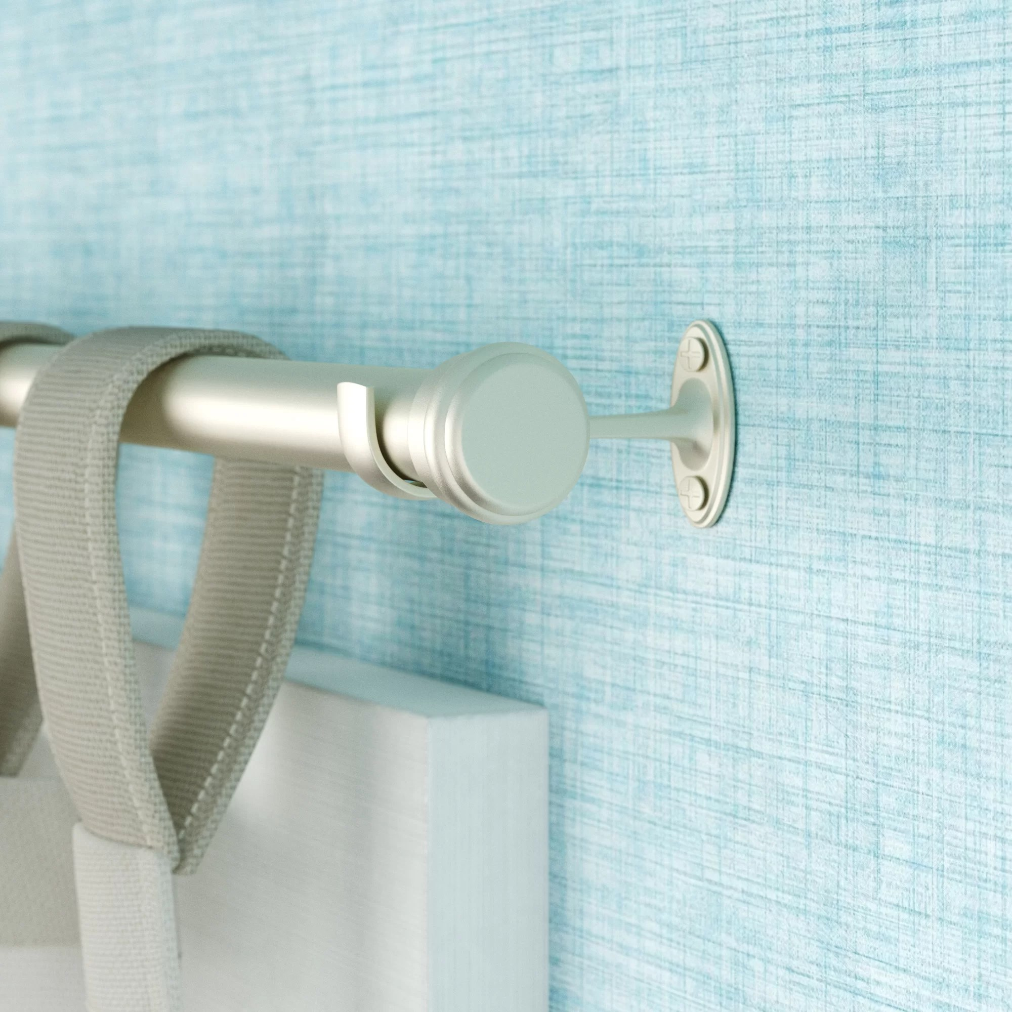 36 inch rods curtain hardware