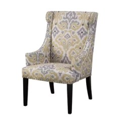 Accent Chair Yellow Folding Plans Wood Chairs You Ll Love Wayfair Quickview Blue