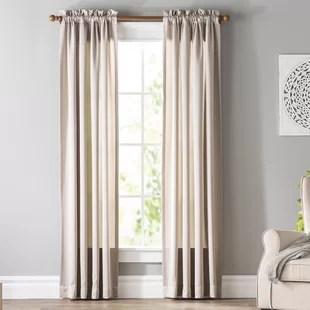 window curtains living room log burner decor tuscan style wayfair quickview