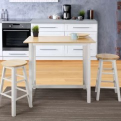 Pub Kitchen Table Tall Sets Tables Bistro You Ll Love Wayfair Sigrid 3 Piece Counter Height Set