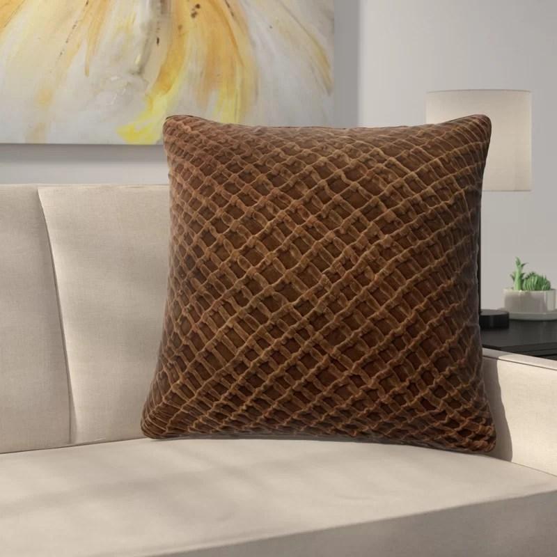 lao velvet throw pillow