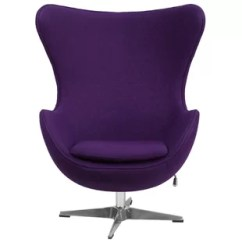 Purple Swivel Chair Kitchen Table And Chairs Wayfair Quickview