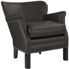 White Leather Wingback Chair Wedding Covers Oxford Faux Accent Chairs You Ll Love Wayfair Quickview