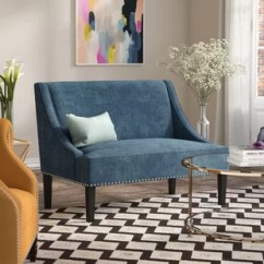 Settee Living Room Small Diy Extra Wayfair Jolinda Swoop