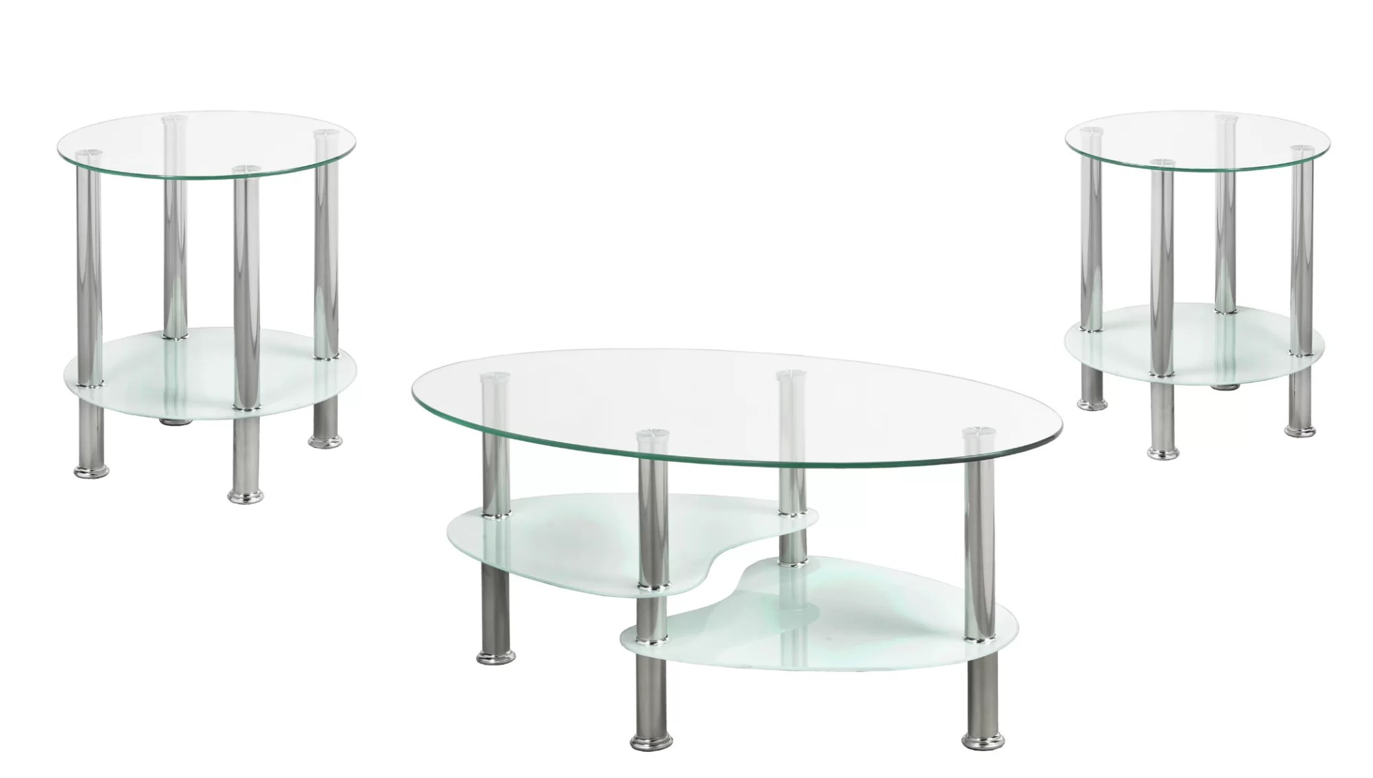 ratley 3 piece coffee table set