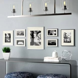 wall frames for living room dark grey rugs picture you ll love wayfair ca save